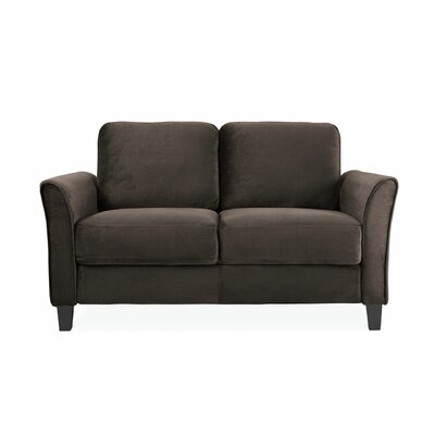 Patricia Curved Arm Loveseat