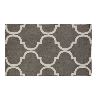 Messer Gray Area Rug Rug Size: 23 x 4