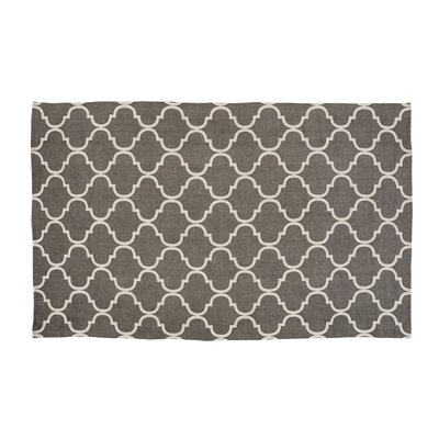 Messer Gray Area Rug Rug Size: 8 x 11