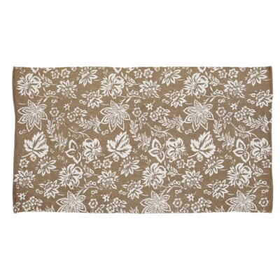 Messina Khaki Area Rug Rug Size: 4 x 6