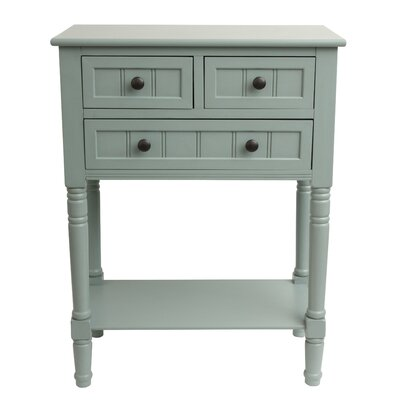 Wedgewood Console Table Finish: Antique Iced Blue