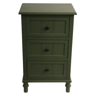 Wedgewood 3 Accent Chest Finish: Antique Teal