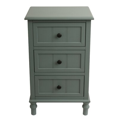 Wedgewood 3 Accent Chest Finish: Antique Iced Blue