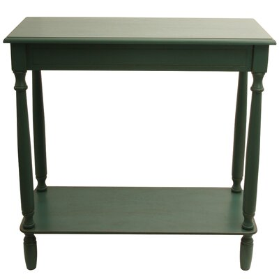 Wedgewood Console Table Finish: Antique Teal