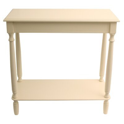 Wedgewood Console Table Finish: Antique White
