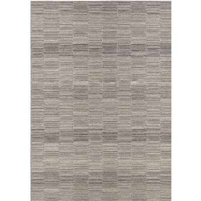 Whitney Gray Indoor/Outdoor Area Rug Rug Size: Rectangle 66 x 96