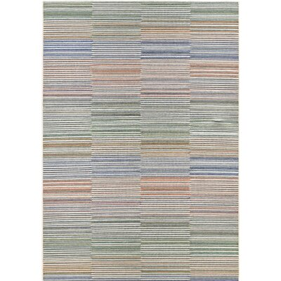 Whitney Beige/Ivory Indoor/Outdoor Area Rug Rug Size: Rectangle 710 x 109