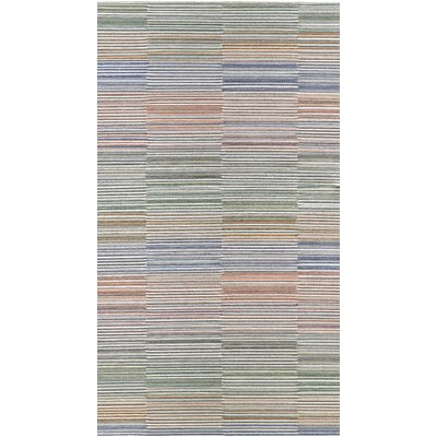 Whitney Beige/Ivory Indoor/Outdoor Area Rug Rug Size: 53 x 76