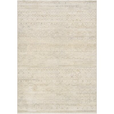 Watson Ivory Area Rug Rug Size: Rectangle 53 x 76