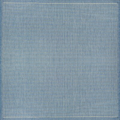 Adelmo Blue Indoor/Outdoor Area Rug Rug Size: Square 76