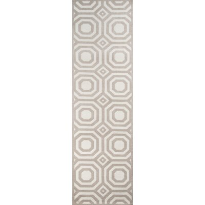 Murray Hand-Tufted�Gray Area Rug Rug Size: Runner 23 x 8