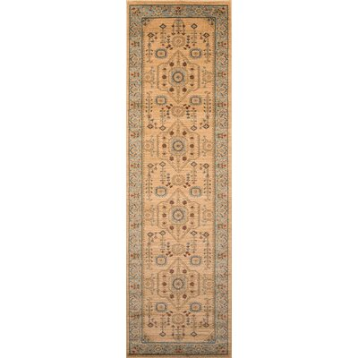Miller Beige Area Rug Rug Size: Rectangle 93 x 126