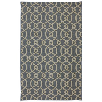 Montville Morrison Navy Blue/gray Area Rug Rug Size: Rectangle 5 x 8