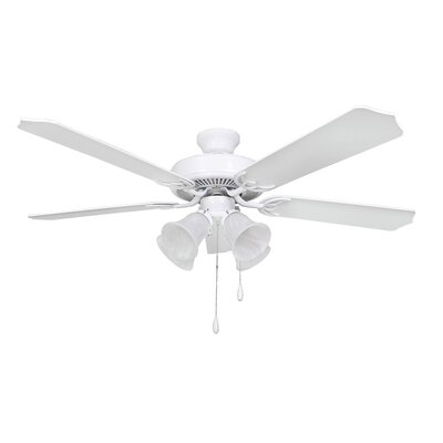 52 Bank 5-Blade Ceiling Fan