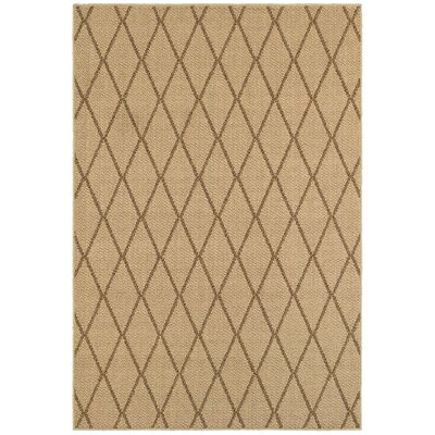 Carondelet Beige Indoor/Outdoor Area Rug Rug Size: Rectangle 910 x 129