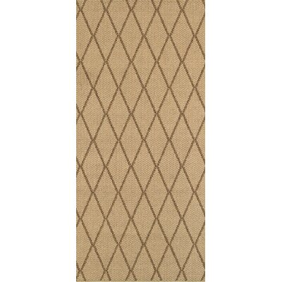 Carondelet Brown/Sand Indoor/Outdoor Area Rug Rug Size: Runner 110 x 76