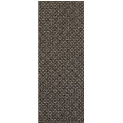 Carpentersville Gray Indoor/Outdoor Area Rug Rug Size: Runner 110 x 76