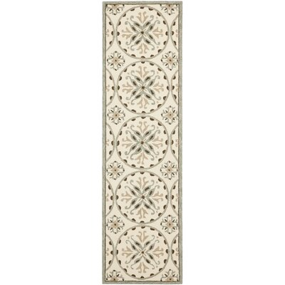Carvalho Green/Brown Outdoor Area Rug Rug Size: 24 x 4