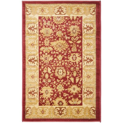 Christensen Red/Gold Rug