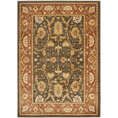 Christensen Brown/Creme Area Rug