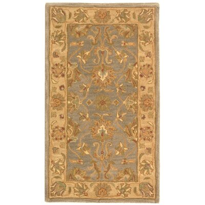 Cranmore Yellow Area Rug Rug Size: Rectangle 76 x 96