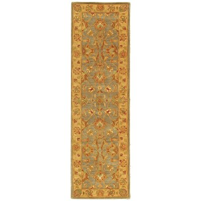 Cranmore Yellow Area Rug Rug Size: Runner 23 x 12