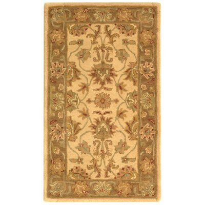 Cranmore Ivory/Brown Area Rug Rug Size: 3 x 5