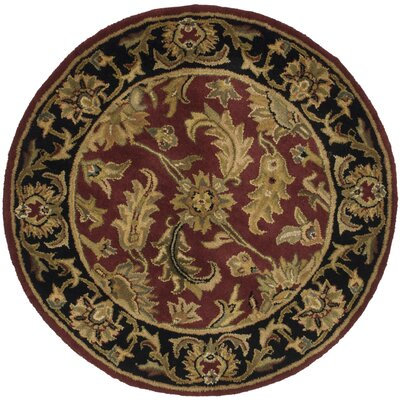 Cranmore Floral Area Rug Rug Size: Round 36