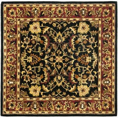 Cranmore Black Area Rug Rug Size: Square 8'