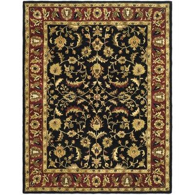 Cranmore Black Area Rug Rug Size: 11 x 15
