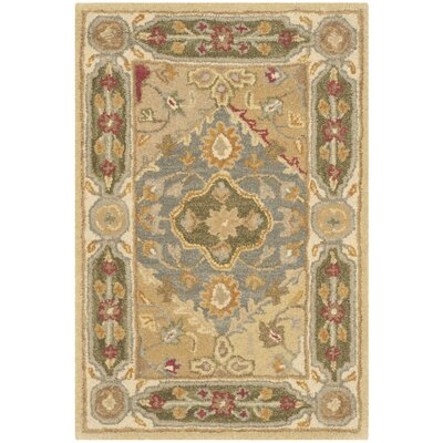 Cranmore Ivory Area Rug Rug Size: Rectangle 2' x 3'