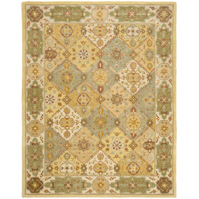 Cranmore Ivory Area Rug Rug Size: 76 x 96