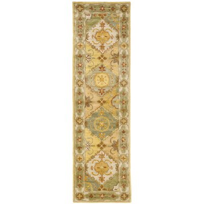 Cranmore Ivory Area Rug Rug Size: Runner 2'3