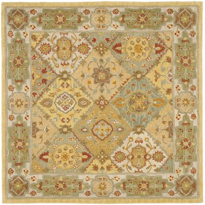 Cranmore Ivory Area Rug Rug Size: Square 6'