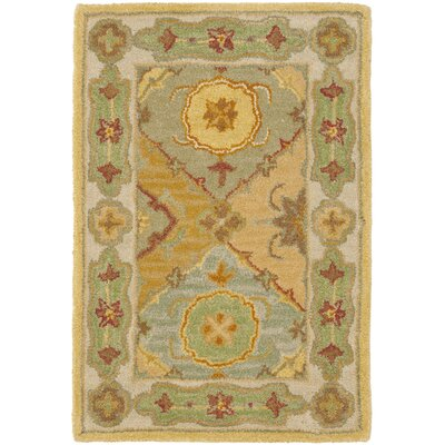 Cranmore Ivory Area Rug Rug Size: 2 x 3