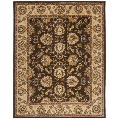 Cranmore Brown/Ivory Area Rug COLOR: Brown / Ivory, Rug Size: 2 x 3
