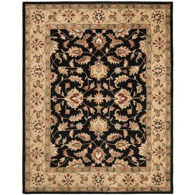 Cranmore Black/Gold Area Rug Rug Size: 83 x 11