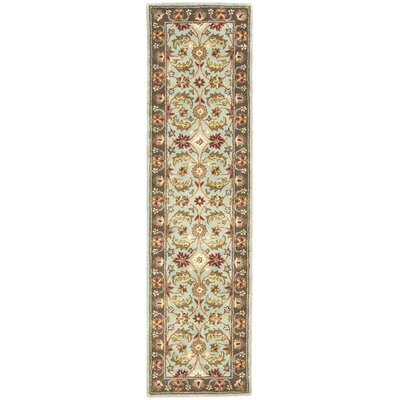 Cranmore Ivory Area Rug Rug Size: Runner 23 x 8