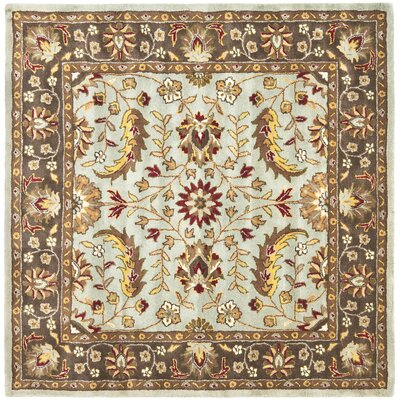 Cranmore Ivory Area Rug Rug Size: Square 6