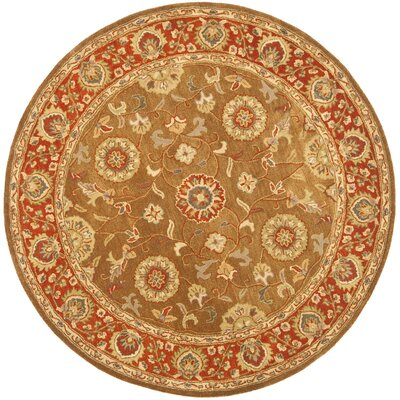 Cranmore Area Rug Rug Size: Round 6