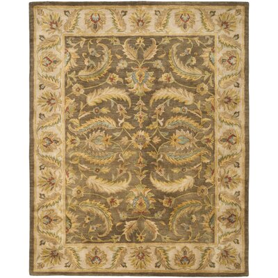 Cranmore Green / Beige Oriental Rug Rug Size: 83 x 11