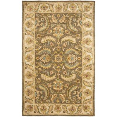 Cranmore Green / Beige Oriental Rug Rug Size: 4 x 6