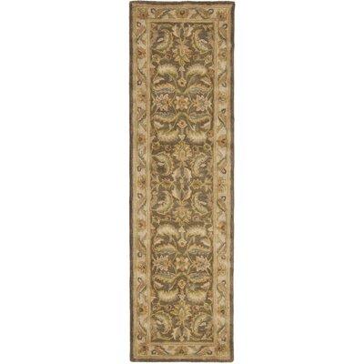 Cranmore Green / Beige Oriental Rug Rug Size: Runner 23 x 8
