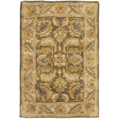 Cranmore Green / Beige Oriental Rug Rug Size: 2 x 3