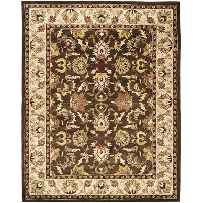 Cranmore Brown/Beige Area Rug Rug Size: Rectangle 6 x 9