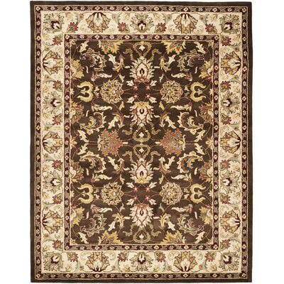 Cranmore Brown/Beige Area Rug Rug Size: 4 x 6