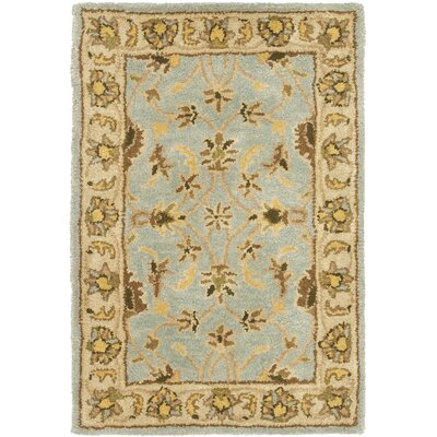 Cranmore Light Blue/Beige Area Rug Rug Size: Rectangle 2 x 3