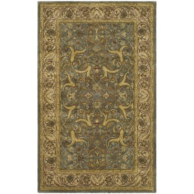 Cranmore Blue / Beige Oriental Rug Rug Size: Rectangle 2' x 3'