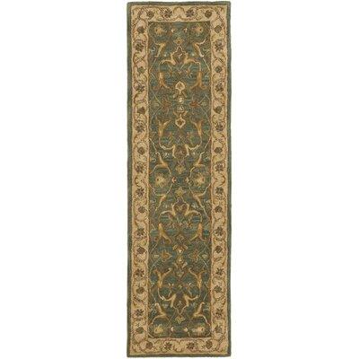 Cranmore Blue / Beige Oriental Rug Rug Size: Runner 23 x 14