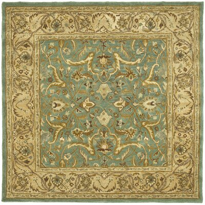 Cranmore Blue / Beige Oriental Rug Rug Size: Square 6 x 6